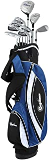 Confidence Golf Power V3 Mens Golf Clubs Set & Stand Bag