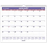 """AT-A-GLANCE 2018 Monthly Wall Calendar, January 2018 - December 2018, 14-7/8"""" x 11-7/8"""" (PM828)"""