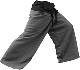 Pantalones de Pescador de 2 Tonos 38 - Tamaño de Variación DE 44 Pulgadas para Yoga y Estilo Casual