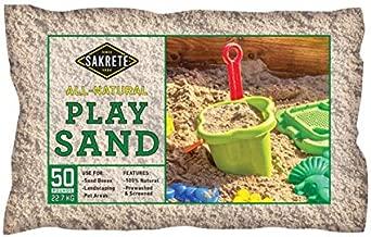 SAKRETE of North America 40100301 50 lb Natural Play Sand
