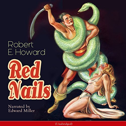 Red Nails audiobook cover art