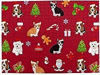 クリスマス犬の子犬大人のための500ピースジグソーパズル子供ゲームおもちゃギフト壁の装飾