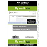 2022 Monthly Planner Refill by AT-A-GLANCE,...