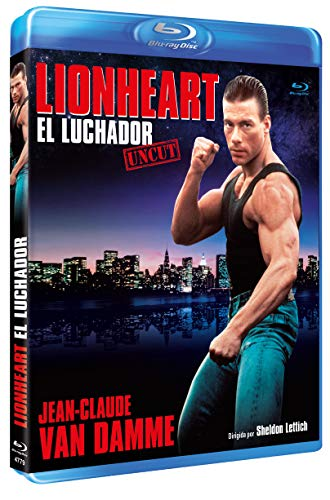 Lionheart: El Luchador BD Uncut 1990 [Blu-ray]
