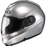 HJC SY-MAX 2 SYMAX2 FLIP-UP LT. SILVER SIZE:XSM Motorcycle Full-Face-Helmet