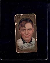 1911 T205#109 Christy Mathewson F X1644605