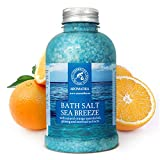 Bath Salt Sea Breeze 21,16 Ounces with Natural Essential Oils Orange & Ginseng &...
