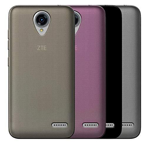 Shopeame Funda ZTE L7A Crystal Case Protector TPU Flexible