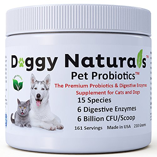 Pet Health Pharma Probiotics for Dogs & Cats with 6...