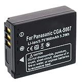 Batería CGA-S007/DMW-BCD10 para Panasonic Lumix DMC-TZ5, TZ11, TZ15, TZ50