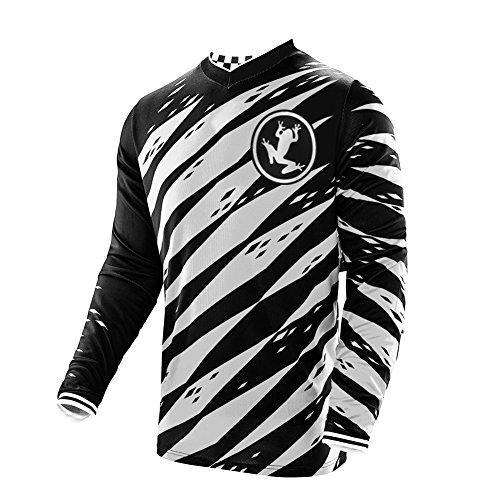 Uglyfrog Long Sleeve V-Kragen Sports Jersey Element Racewear Frühling Motocross Downhill Kurz/Langarm Trikots Enduro Cross Motorrad DH/AM/XC/FR/MTB/BMX/MTB Shirt Top