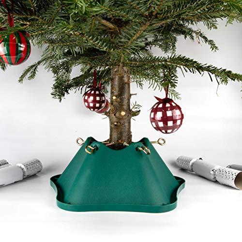 Bosmere 6 Pulgadas del árbol de Navidad plástico del Soporte con el Tronco 4.75 Pulgadas - Verde
