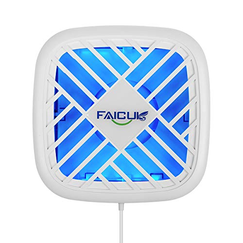 Faicuk Fly Light Trap Indoor Fly Trap with Glue Board for Capturing Moths,Mosquitoes- 10.3'x8.2'x1.7'