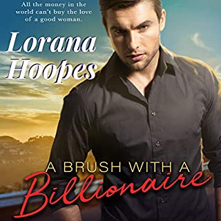 A Brush with a Billionaire audiobook cover art