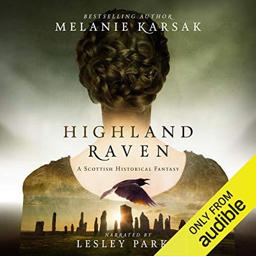 Highland Raven audiobook cover art
