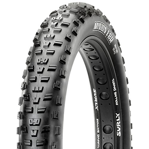 Maxxis Minion FatBike Rear FBR 26 x 4.8, 120tpi, Double Compound, EXO Puncture Protection, Tubeless Ready