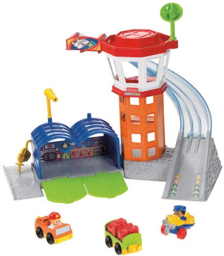 Mattel Fisher-Price X7826 - Little People Wheelies Flughafen