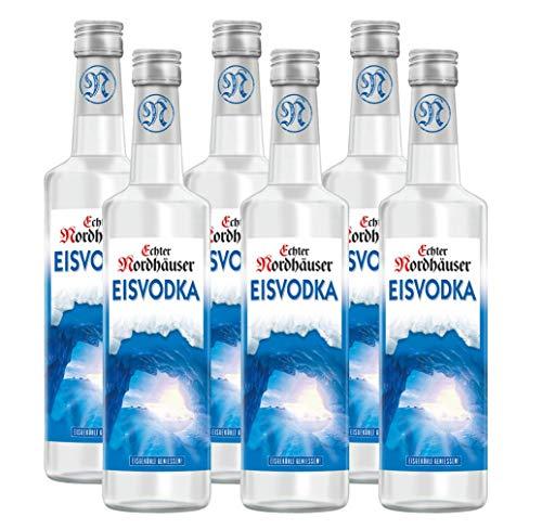 Echter Nordhäuser Eisvodka (6 x 0.7l) – Eiskalter Vodka Genuss