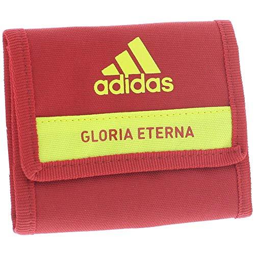 adidas FEF Portefeuille de la Fédération Espagnole de Football 2015-2016, Unisexe, Couleur Rouge, Taille NS