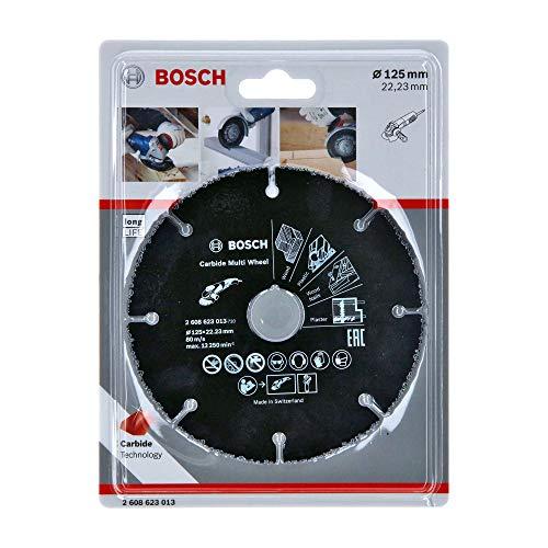 Bosch Professional Trennscheibe Multi Wheel (Ø 125 mm, Zubehör Winkelschleifer)