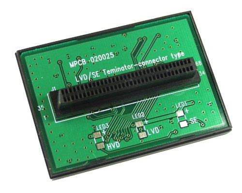 InLine 39268T SCSI U320 LVD/SE Terminator intern 68-polig Mini Sub D bus T-vorm