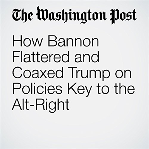 How Bannon Flattered and Coaxed Trump on Policies Key to the Alt-Right                   By:                                                                                                                                 David A. Fahrenthold,                                                                                        Frances Stead Sellers                               Narrated by:                                                                                                                                 Jenny Hoops                      Length: 9 mins     Not rated yet     Overall 0.0