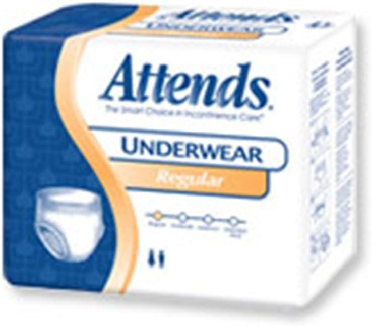 Challenge the lowest price Attends Regular Absorbency Underwear Absbncy Reg Ranking TOP19 Undwr