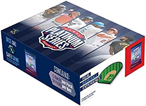 Platinum Series 24WB2015 Player Card Box, 24 Pack by Platinum Series