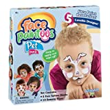 PlayMonster Temporary Tattoos Face Paintoos -- Pet Pack -- Face Design for a Face Paint Alternative For Kids Ages 4+, Brown/a