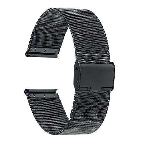 Braccialetto in metallo in acciaio inox per cinturino da 18 mm per orologio per Huawei, Asus Zenwatch 2 donne WI502Q, Contazioni Attività / Acciaio / Pop, 36mm Daniel Wellington cinturino per orologio