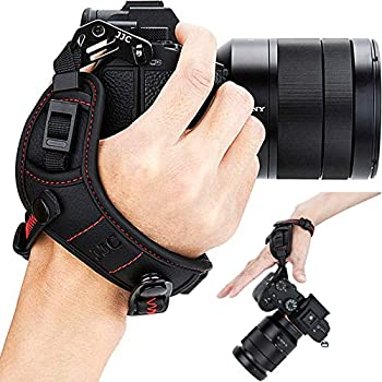 Mirrorless Camera Hand Grip Strap for Sony A7C A6600 A6500 A6400 A6300 A6100 A6000 A7SIII A7RIV A7RIII A7III A7RII A7SII A7II A7R A7S A7 A9II A9 Fujifilm Fuji X-S10 X-Pro3 X-T4 X-T30 GFX 100S 100 50R