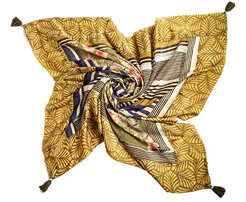 Rubicon PARADISE, Tuch bzw. Schal für die Frau/Dame. Damenschal, Damentuch, Sommerschal, Sommertuch, weich