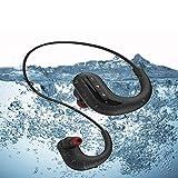 ONLYGAZE Schwimmkopfhörer Tauchkopfhörer Wasserdicht MP3-Player Schwimmen, wasserdichte 8 GB...