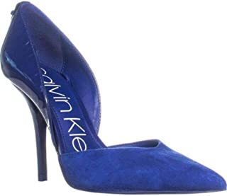 Calvin Klein Women's Marybeth Pump, Adrenaline Blue, 7.5 M