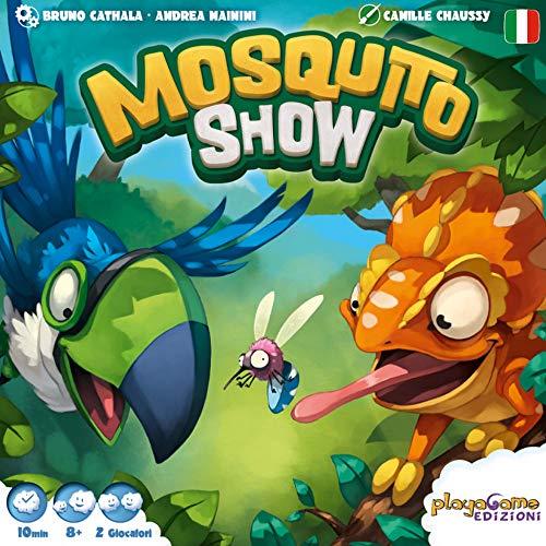 Playagame Mosquito Show Gioco da Tavolo in Italiano