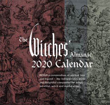 The Witches' Almanac 2020 Wall Calendar [Calendar] Theitic