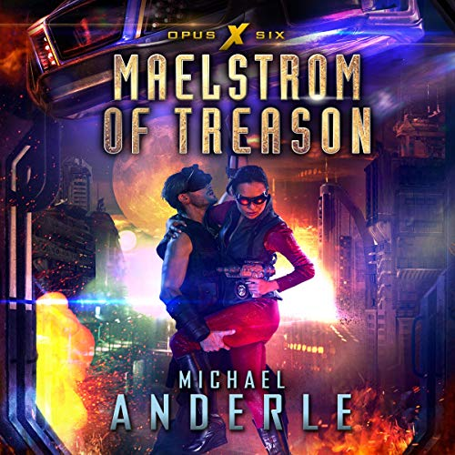 Maelstrom of Treason audiobook cover art