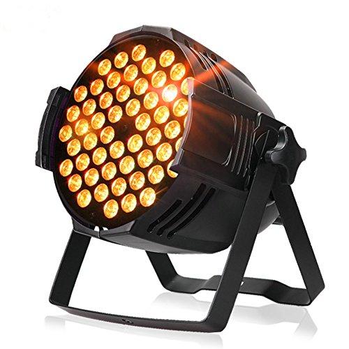 ZjRight Par luces de 90 W LED DJ PAR escenario luz RGBW DMX 512 iluminación escenario discoteca proyector para el hogar, boda, iglesia, concierto, baile