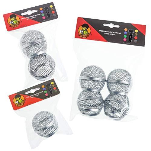 Cabezales de rejilla de repuesto para micrófono Shure SM58, AKG, Sennheiser etc. - Varias...