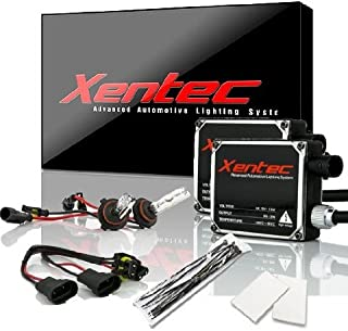 Xentec 9005 5000K HID xenon bulb x 1 pair bundle with 2 x 35W Digital Ballast (Ivory White, also fit 9011,9055,9145,HB3,H12)