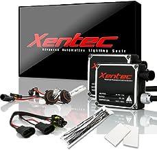 Xentec 9006 (HB4) 6000K HID xenon bulb x 1 pair bundle with 2 x 35W Digital Ballast (Ultra White)
