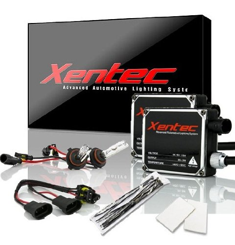 Xentec 9006 (HB4) 6000K HID xenon bulb x 1 pair bundle with 2 x 35W Digital Ballast (Ultra White)
