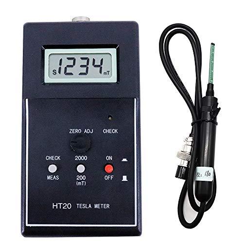 Preisvergleich Produktbild HT20 Magnetismus Magnetismus Tesla / Gauss / Handheld Digital Magnetischer Flussmesser Oberfläche Magnetfeldprüfer DC 2000 mT