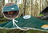 Campfire Defender Fire Cover | Pro Camper Kit | Fire Control Blanket | Emergency Fire Blanket Cover | Fire Control