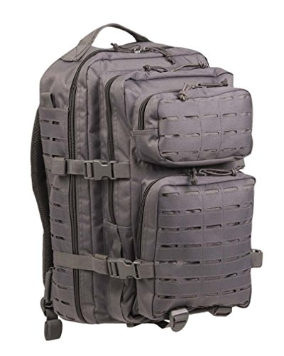 Mil-Tec US Assault Pack Grande Laser Cut Urban Gris