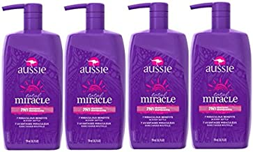 Aussie Total Miracle Collection 7N1 Shampoo, 26.2 Fluid Ounce (Pack of 4)