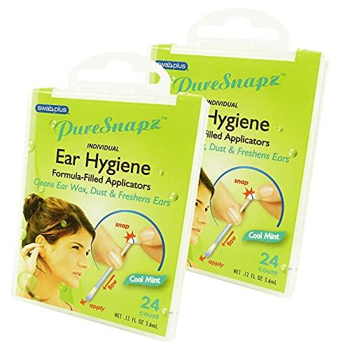 SwabPlus - Pure Snapz - Ear Hygiene Oreille Hygiène Voyage Travel Multipack -