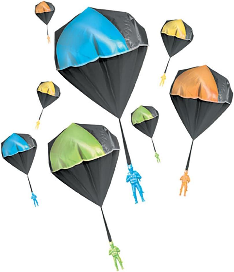 Aeromax Tangle Free GLOW Parachute BLUE GREEN ORANGE OR YELLOW 1