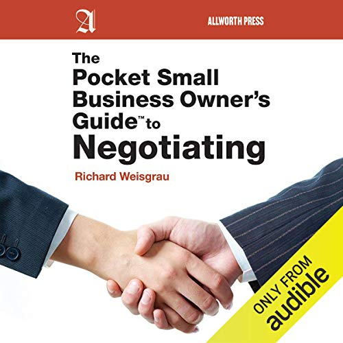 The Pocket Small Business Owner's Guide to Negotiating audiobook cover art