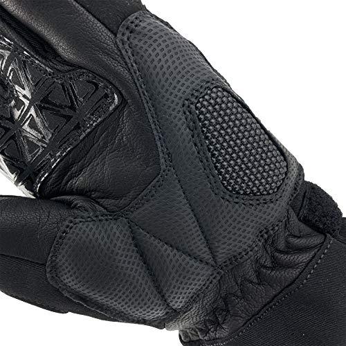 Orina Motorrad Winterhandschuhe, gefüttert, wind-, wasserdicht, atmungsaktiv (XL) - 2